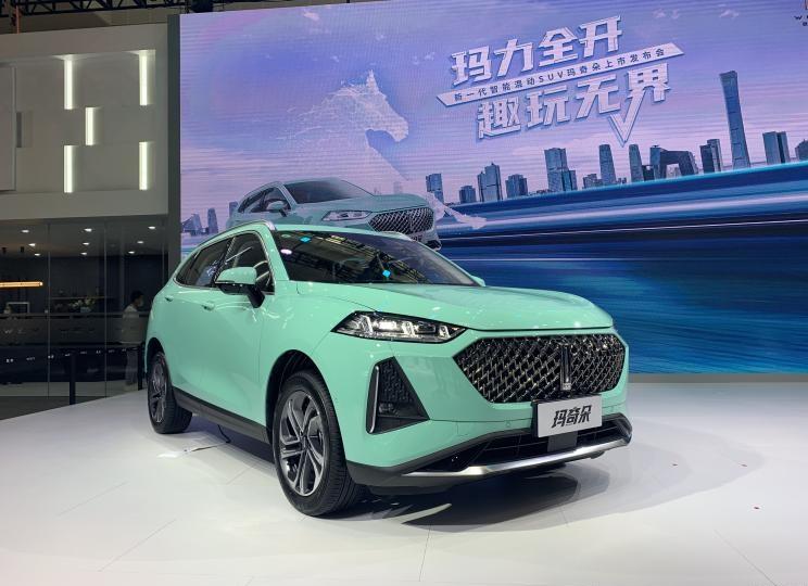 2021天津车展:WEY玛奇朵HEV正式上市