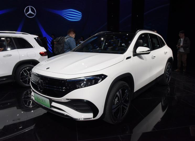 37万元/44万元奔驰EQA与EQB预售价公布